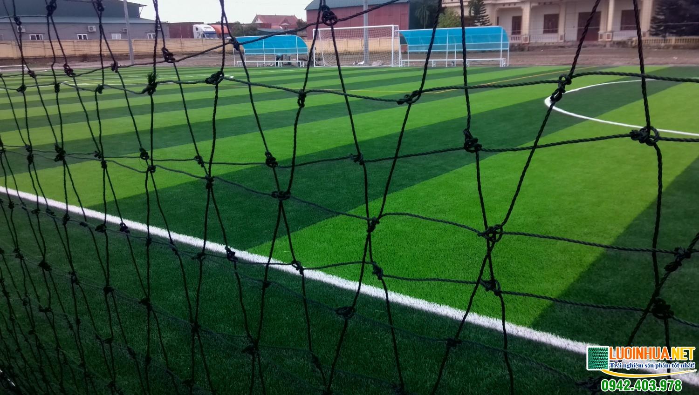 Lưới quây sân bóng đá là vật tư hết sức cần thiết